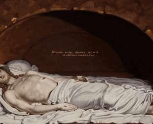Исус во гробе — Владимир Боровиковский