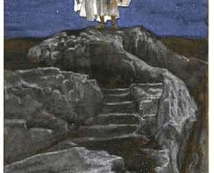 Jesus Goes Up Alone onto a Mountain to Pray — Джеймс Тиссо