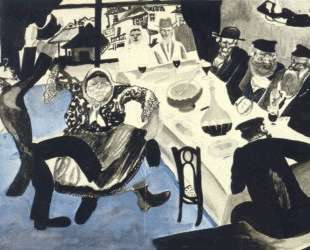 Еврейская свадьба — Марк Шагал