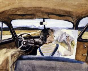 Jo In Wyoming — Эдвард Хоппер