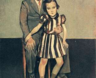 Joan Miro and his daughter Dolores — Бальтюс