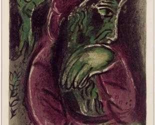 Иов в отчаянии — Марк Шагал