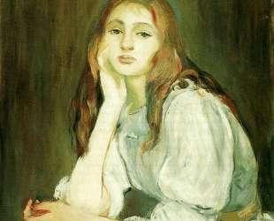 Julie Daydreaming — Берта Моризо