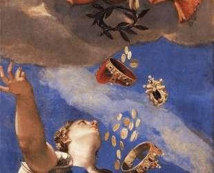 Juno Showering Gifts on Venetia — Паоло Веронезе