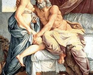 Jupiter and Juno — Аннибале Карраччи