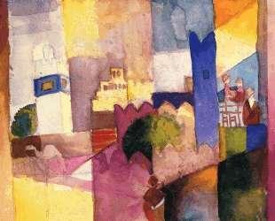 Kairouan (III) — Август Маке