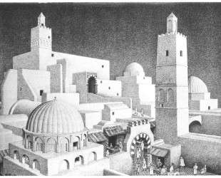 Kairouan Tunisia — Мауриц Корнелис Эшер