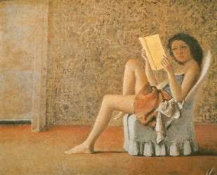 Katia reading — Бальтюс