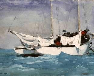 Key West, Hauling Anchor — Уинслоу Хомер