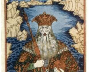 Царь морской — Иван Билибин