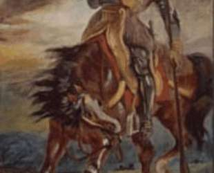 Король Родриго — Эжен Делакруа