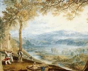 Kirby Londsale Churchyard — Уильям Тёрнер