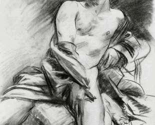 Kneeling Model — Джон Сингер Сарджент