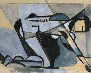 Kneeling nude — Тео ван Дусбург