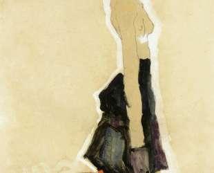 Kneeling Semi-Nude — Эгон Шиле
