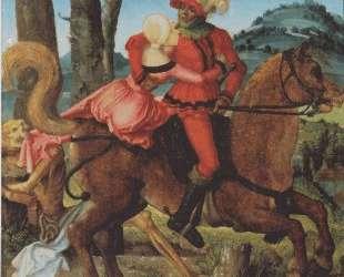 Рыцарь, девушка и смерть — Ханс Бальдунг