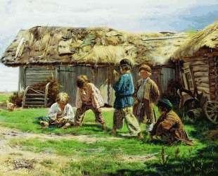 Игра в бабки — Владимир Маковский