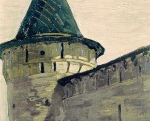 Kostroma. Belfry of Ipatievsky monastery. — Николай Рерих