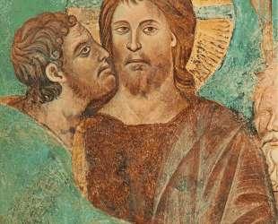 Взятие Христа под стражу (деталь) — Чимабуэ