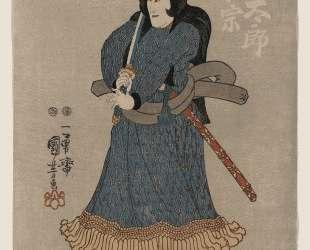 Kuroda Ukinaga, Japanese actor — Утагава Куниёси