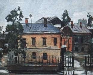 Курск. После дождя — Александр Дейнека