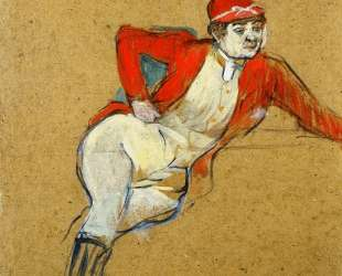 La Macarona in Riding Habit — Анри де Тулуз-Лотрек