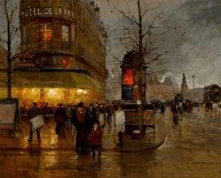 La Place de la Bastille, Paris — Эдуард Кортес