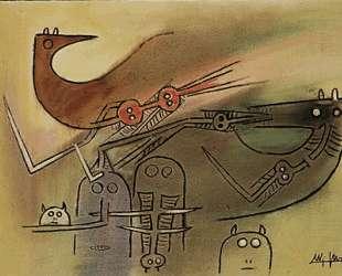 La Rencontre des amis (Oiseau) — Вифредо Лам