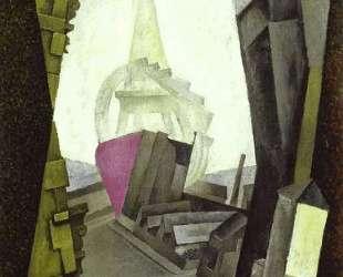La Tour Eiffel — Диего Ривера