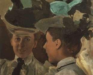 Дама у зеркала (Портрет В. В.Цемировой) — Константин Сомов
