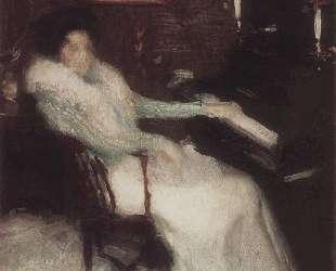 Дама у пианино — Игорь Грабарь