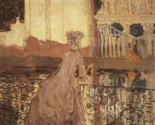 Дама у пруда — Константин Сомов