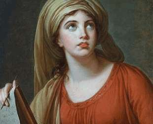 Lady Hamilton as the Persian Sibyl — Элизабет Луиза Виже-Лебрен