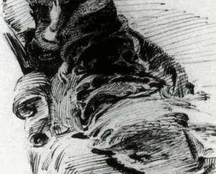 Lady in furs — Михаил Врубель