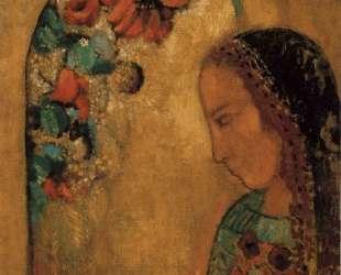 Lady of the Flowers — Одилон Редон