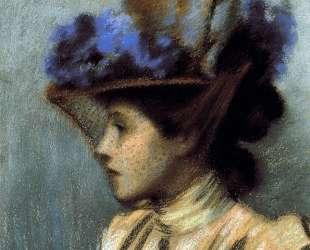 Lady with a hat — Федерико Дзандоменеги