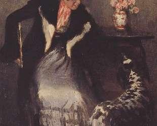 Дама с собакой — Игорь Грабарь