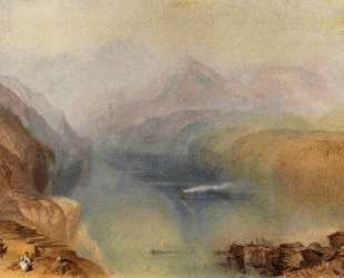 Lake Lucerne — Уильям Тёрнер