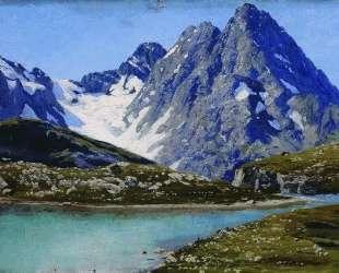 Lake Teberdinsky, Caucasus — Николай Ярошенко