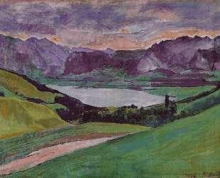 Lake Thun — Фердинанд Ходлер
