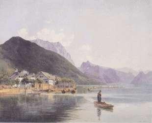 Lake Traun — Рудольф фон Альт