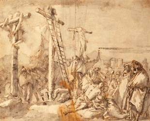 Lamentation at the Foot of the Cross — Джованни Доменико Тьеполо