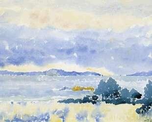 Land by the Sea — Анри Эдмон Кросс