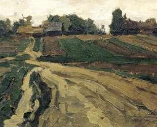 Landscape — Константин Юон