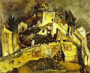 Landscape at Cagnes — Хаим Сутин