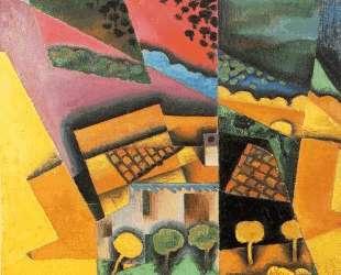 Landscape at Ceret — Хуан Грис