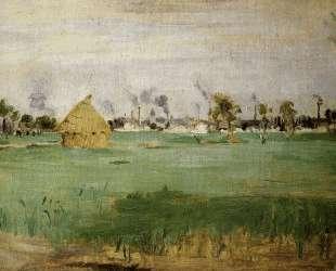 Landscape at Gennevilliers — Берта Моризо