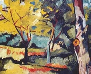 Landscape at Ladyzhino — Наталья Гончарова