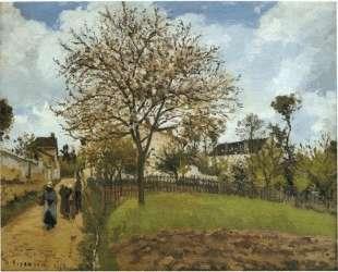 Landscape at Louveciennes — Камиль Писсарро