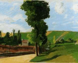 Landscape at Pontoise 2 — Камиль Писсарро